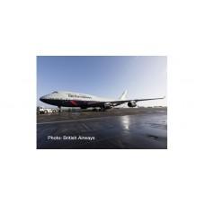 "Herpa 533393 British Airways Boeing 747-400 – 100th anniversary Landor Heritage Design ""City of Swansea"""
