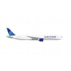 Herpa 534253 United Airlines Boeing 777-300ER
