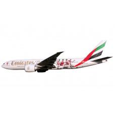 """Herpa 611060 Emirates Boeing 777-200LR """"Arsenal London"""", 1:200"""