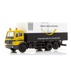 """Herpa 936101MB SK'94 Koffer-LKW, Leonhard Weiss """"Bauen ohne Aufgraben"""""""