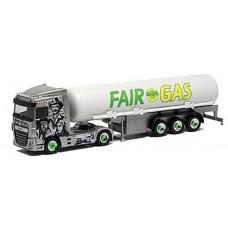 Herpa 943406 DAF XF SC Gastank-SZ Fair Gas