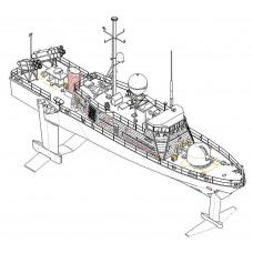 Hobby Boss 382005 PHM 1 USS Pegasus 1:200
