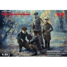 ICM 35631 WWII Soviet Partisans