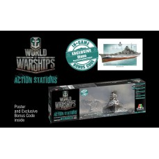 Italeri 46501 Bismarck - World of Warships 1:700