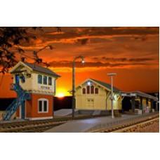 Kibri 38994 Set Rund um den Bahnhof