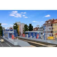 Kibri 37756 N S-Bahn Haltestelle mit Übergangssteg Goldberg