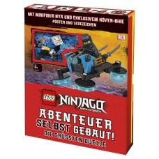 Lego 3611 Buch, Ninjago - Abenteuer selbst gebaut!