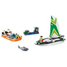Lego 60168 Segelboot in Not