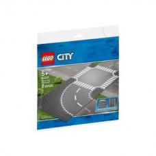 Lego 60237 Kurve und Kreuzung