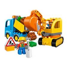 Lego 10812 Bagger & Lastwagen
