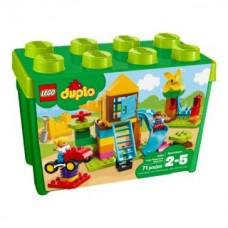 Lego 10864 Steinebox mit großem Spielplatz
