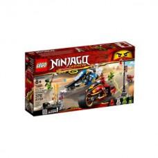 Lego 70667 Kais Feuer-Bike & Zanes Schneemobil