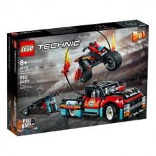 Lego 42106 Stunt-Show mit Truck und Motorrad