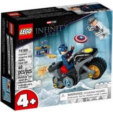 Lego 76189 Duell zwischen Captain America und Hydra