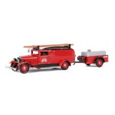 Märklin 19035 Feuerwehr Rüstwagen mit Anhänger
