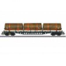 Märklin 47098 Rungenwagen mit Klapprungen Bauart Rs 684