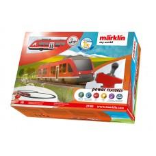 """Märklin 29100 Startpackung """"Nahverkehrszug LINT""""."""