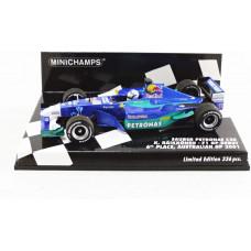 Minichamps 410010117 1:43 2001 Red Bull Sauber Petronas C20-Kimi Raikkonen