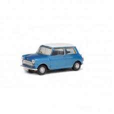Solido 421436040 Morris Mini Cooper S, blau, 1967