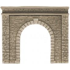 Noch 58061 Tunnel-Portal, 1-gleisig, 15 x 12,5 cm