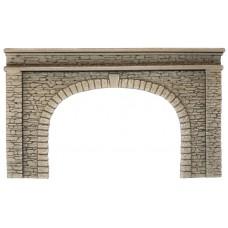 Noch 58062 Tunnel-Portal, 2-gleisig, 22 x 13 cm