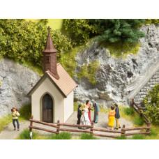 Noch 14336 Dorfkapelle 4,2 x 3,6 cm, 8,1 cm hoch