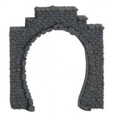 Noch 34400 Tunnel-Portal, 1-gleisig, 2 Stück, 5,5x6,5 cm