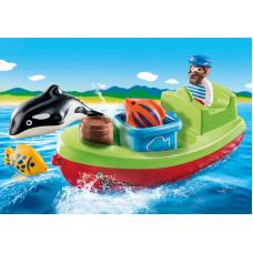 Playmobil 70183 Seemann mit Fischerboot