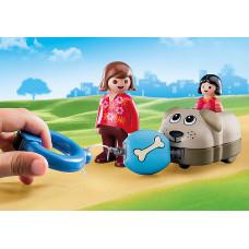 Playmobil 70406 Mein Schiebehund