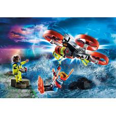 Playmobil 70143 Seenot: Taucher-Bergung mit Rettungsdrohne
