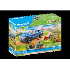 Playmobil 70518 Mobiler Hufschmied