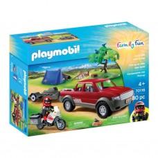 Playmobil 70116 Abenteuer Pick-up