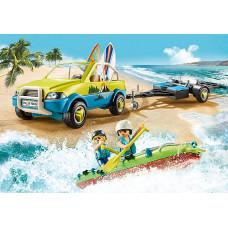 Playmobil 70436 Strandauto mit Kanuanhänger
