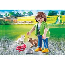 Playmobil 70562 Frau mit Katzenbabys