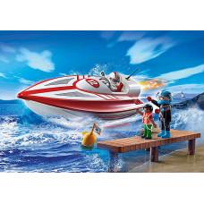 Playmobil 70744 Speedboot mit Unterwassermotor