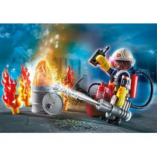"Playmobil 70291 Geschenkset ""Feuerwehr"""