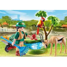 """Playmobil 70295 Geschenkset """"Zoo"""""""