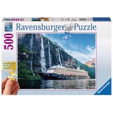 Ravensburger 136476  Mein Schiff 4 im Fjord