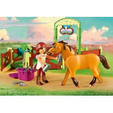 "Playmobil 9478 Pferdebox ""Lucky & Spirit"""