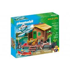 Playmobil 9320 Abenteuerurlaub an der Seehütte