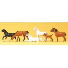 Preiser 10150 Pferde