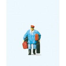 Preiser 28013 Gepäckträger