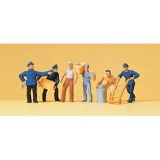 Preiser 14016 Güterbodenpersonal