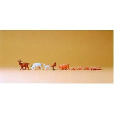 Preiser 14162 Ziegen und Schweine