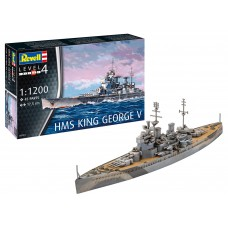 Revell 05161 HMS King George V  1:1200
