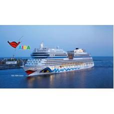 Revell 05230 Cruiser Ship AIDAblu, AIDAsol, AIDAmar, AIDAstella