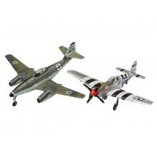 Revell 03711 Combat Set Messerschmitt Me262 & P-51B Mustang