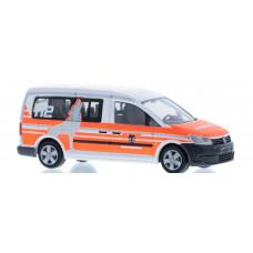Rietze 52714 Volkswagen Caddy Maxi, Feuerwehr Wolfsburg