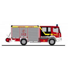 """Rietze 72909 Mercedes-Benz Atego Schlingmann Varus HLF """"Feuerwehr Herford"""""""