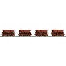 Roco 67071  4-teiliges Set: Erzwagen MAS 4 der SJ